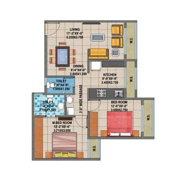 1 Bhk 2 Bhk 3 Bhk Flats Apartments For Sale In Taloja
