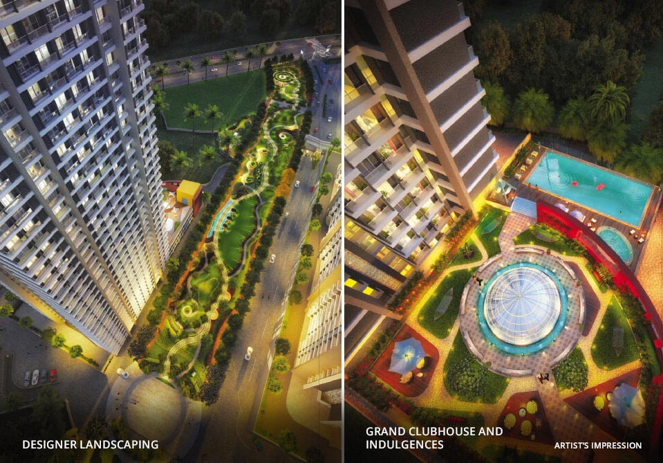Arihant Aspire - Designer Landscape | Grand Clubhouse and Indulgences